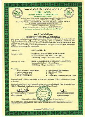 sijil halal celgynic